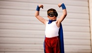 Superhero powers and nutrition for kids