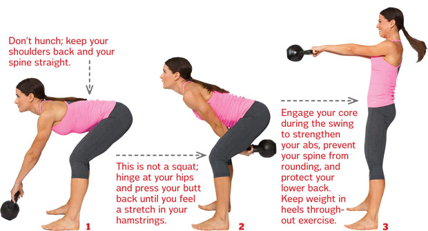 ultimate guide to the kettlebell swing  u2013 warrior goddess