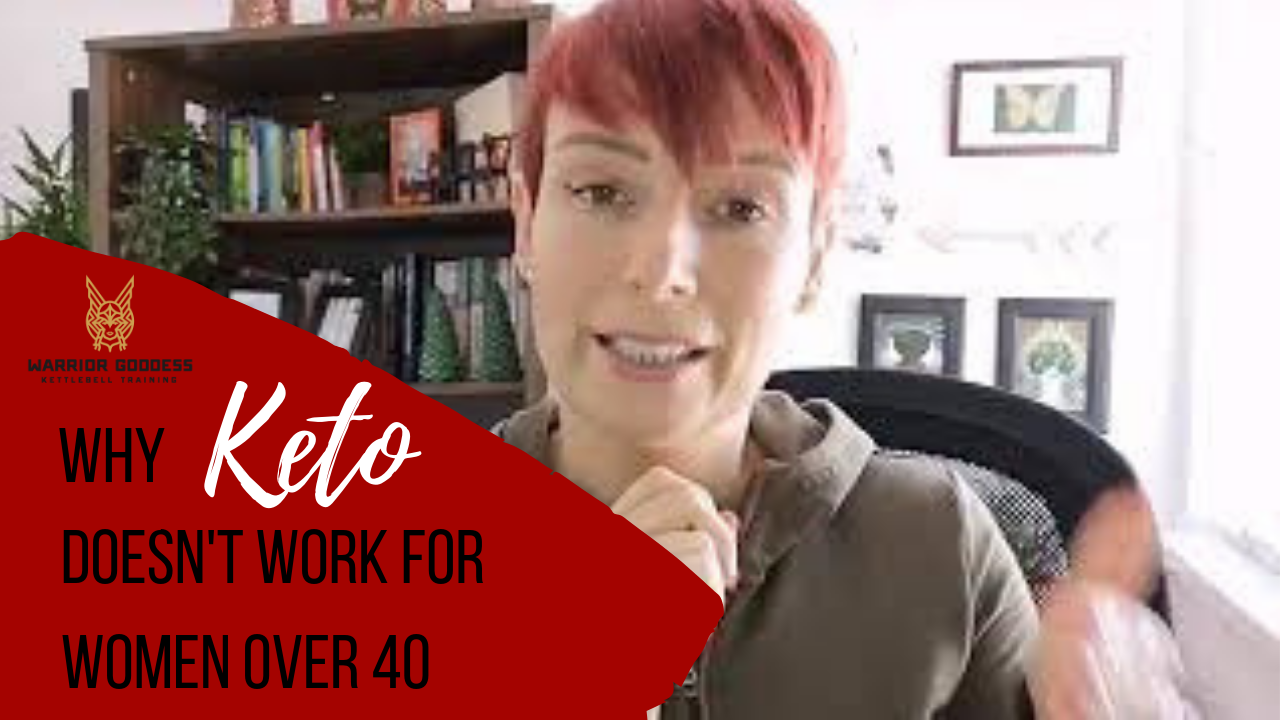 Why keto doesn't work for women over 40