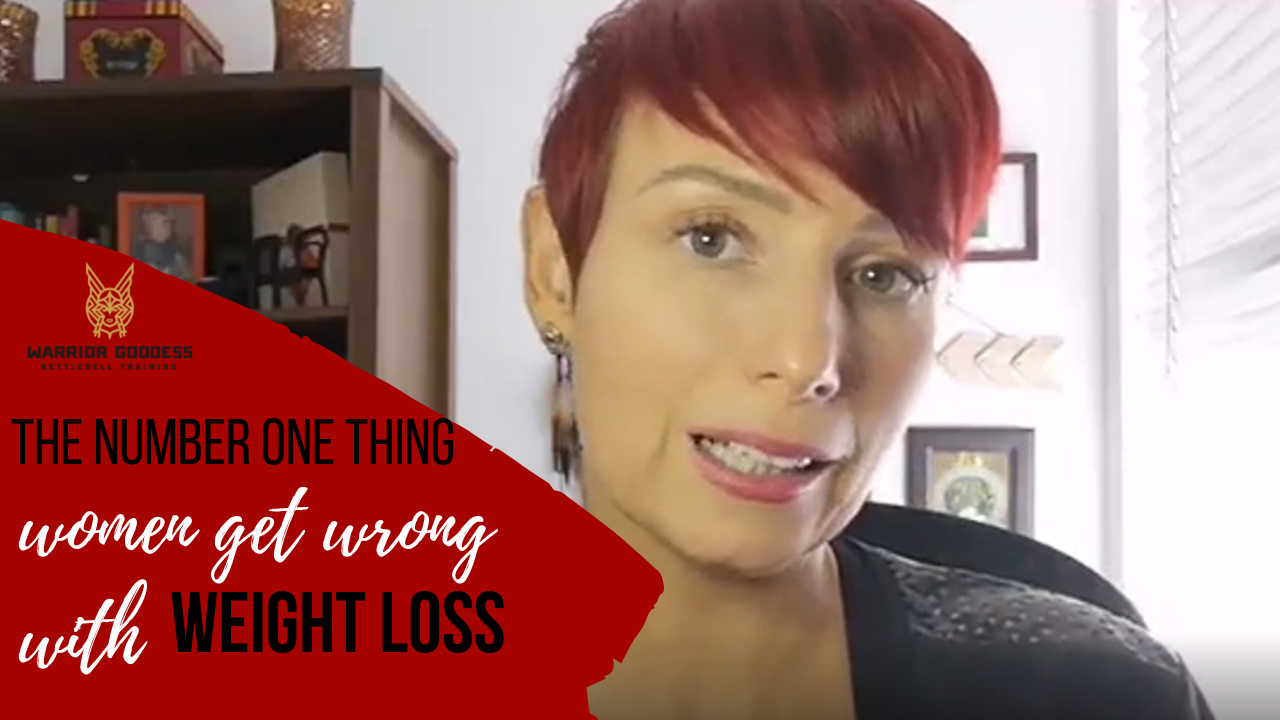 The number 1 thing women get wrong with weight loss...and it is not what you think it is