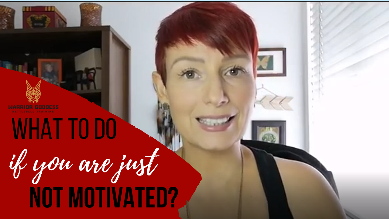 What to do if you are just not motivated?