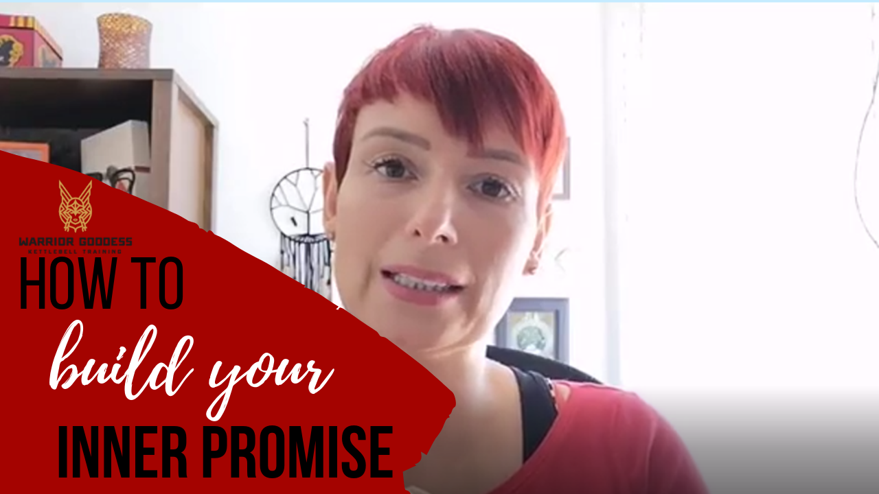 How to build your inner promise so that you will always do what you'll do