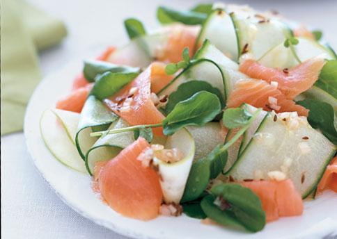 Smoked Salmon with mixed salad