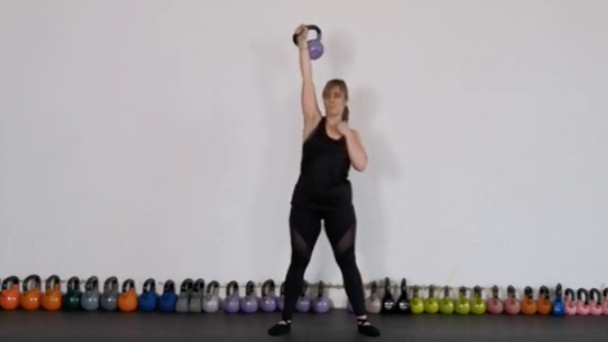 Teaching Points for the Kettlebell Overhead Press